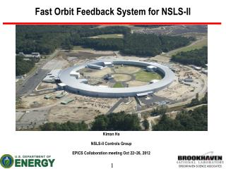 Fast Orbit Feedback System for NSLS-II