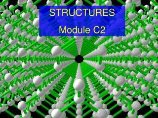 STRUCTURES  Module C2