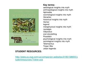 STUDENT RESOURCES: