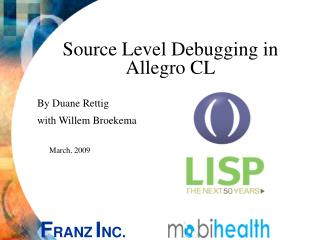 Source Level Debugging in Allegro CL