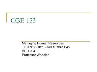 OBE 153