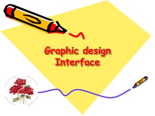 Graphic design Interface