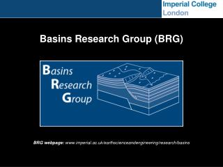 Basins Research Group (BRG)
