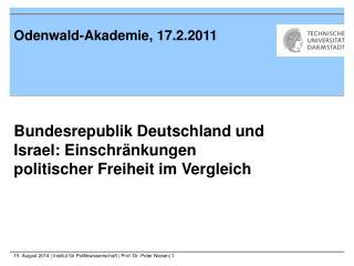 Odenwald-Akademie, 17.2.2011