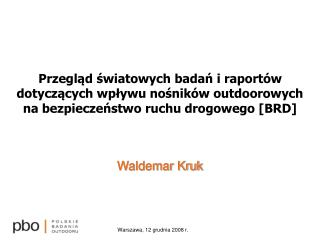Waldemar Kruk