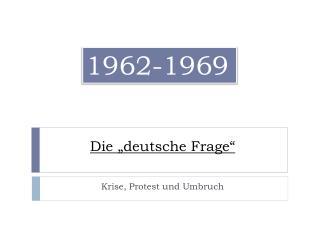 """Die """"deutsche Frage"""""""