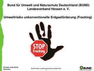 Bund für Umwelt und Naturschutz Deutschland (BUND) Landesverband Hessen e. V.