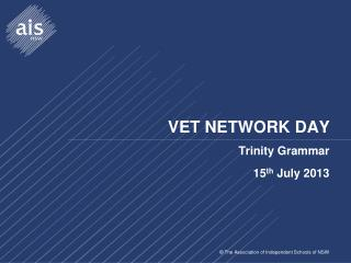 VET NETWORK DAY