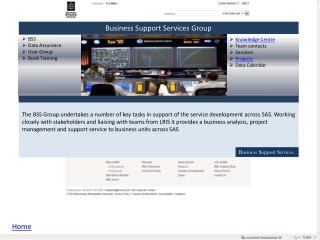 BSS Data Assurance User Group Book Training