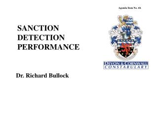 SANCTION DETECTION PERFORMANCE