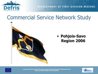Commercial Service Network Study