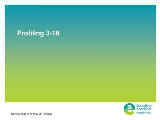Profiling 3-18