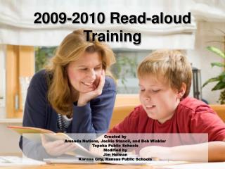 2009-2010 Read-aloud Training