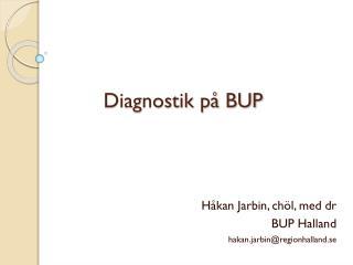 Diagnostik på BUP