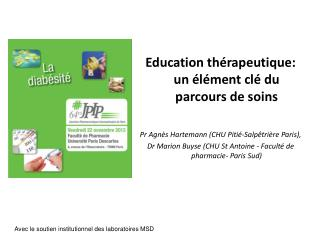Education thérapeutique: un élément clé du parcours de soins