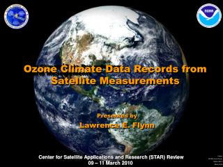 Ozone Climate Data Records from  Satellite Measurements