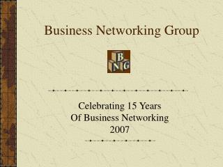 Business Networking Group