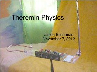 Theremin Physics