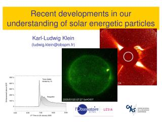 Recent developments in our understanding of solar energetic particles