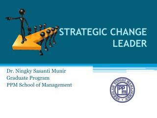 STRATEGIC CHANGE LEADER