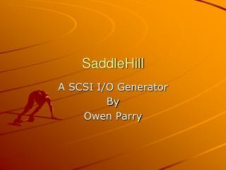 SaddleHill