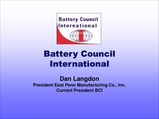Battery Council International