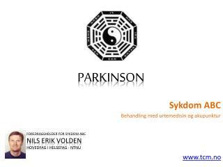 Sykdom ABC - Parkinson
