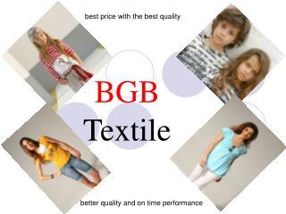 BGB  Textile