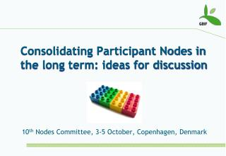 Consolidating Participant Nodes in the long term: ideas for discussion