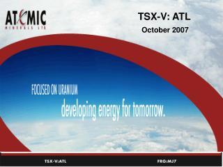 TSX-V: ATL