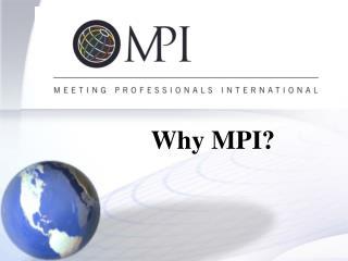 Why MPI?