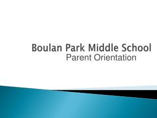 Boulan Park Middle School