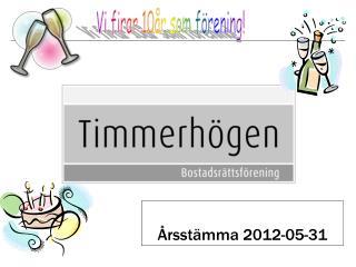 �rsst�mma 2012-05-31