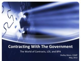 Contracting With The Government