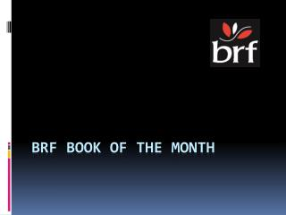 BRF Book of the Month