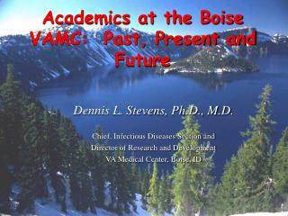 Academics at the Boise VAMC:  Past, Present and Future