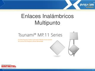 Enlaces Inalámbricos Multipunto