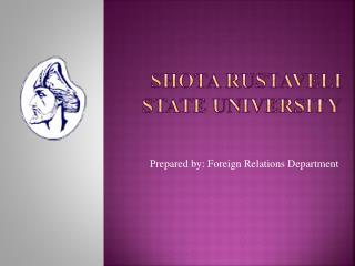 Shota Rustaveli State University