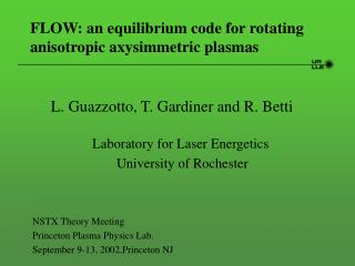FLOW: an equilibrium code for rotating anisotropic axysimmetric plasmas