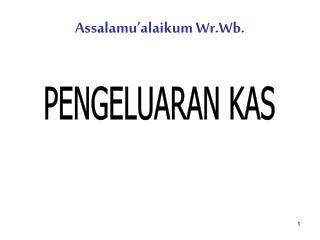 Assalamu�alaikum Wr.Wb.