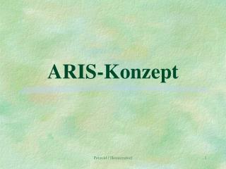 ARIS-Konzept