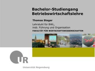 Bachelor-Studiengang Betriebswirtschaftslehre