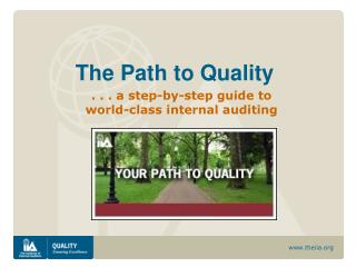 The Path to Quality