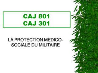 CAJ 801 CAJ 301