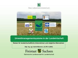 Umweltmanagementsysteme in der Landwirtschaft