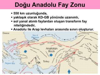 Doğu Anadolu Fay Zonu