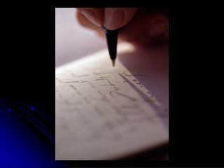 Understanding CP Writing Tasks