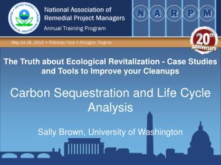 The Truth about Ecological Revitalization - Case Studies and Tools to Improve your Cleanups