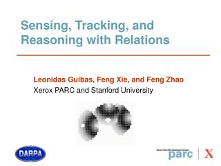 Sensing, Tracking, and Reasoning with Relations