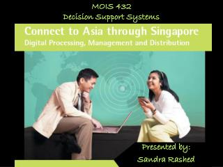 MOIS 432 Decision Support Systems